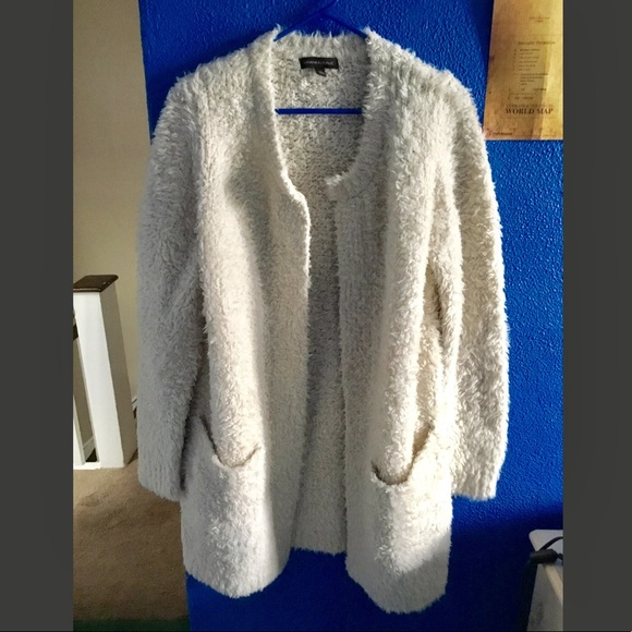 f4e6410893 Banana Republic Sweaters - Banana Republic Fuzzy Cardigan